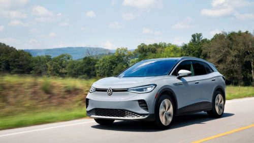 2021 VW ID.4 AWD Pro achieves an EPA-confirmed 249 miles of range