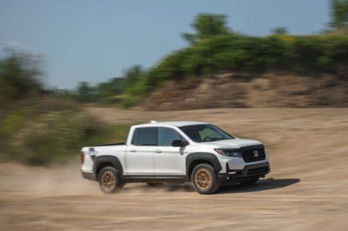 Tested: 2021 Honda Ridgeline Gets Slightly More Trucklike