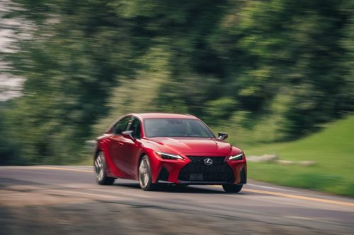 Tested: 2022 Lexus IS500 F Sport Performance Channels the Past