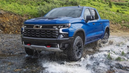 2022 Chevy Silverado Debuts With New Styling, Off-Road ZR2 Model