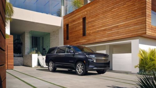 2022 Chevy Tahoe and Suburban get new tech and more V8 options