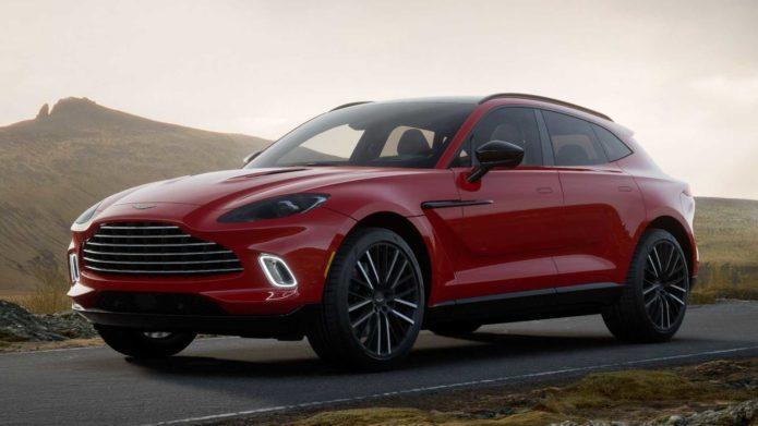 Aston Martin DBX 2022