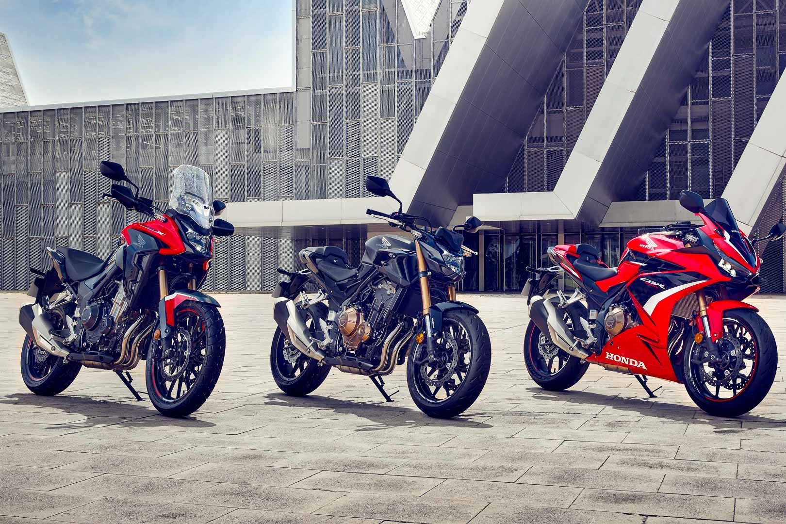 2022 Honda CB500 Lineup