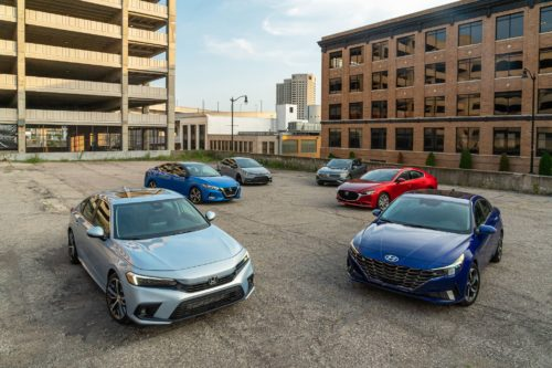 Tested: 2022 Honda Civic vs. the Compact-Sedan Competition
