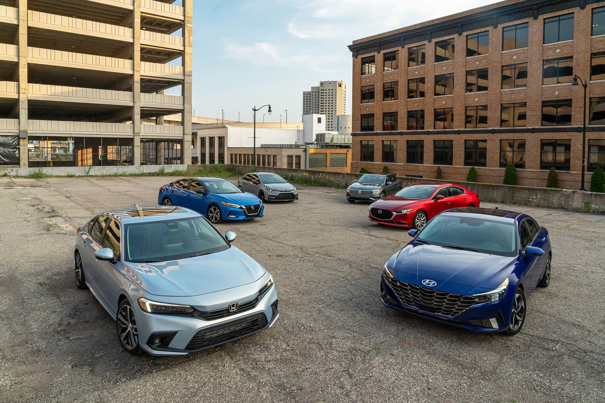 2022 Honda Civic vs. the Compact-Sedan Competition
