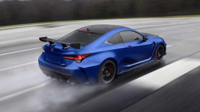 2022 Lexus RC F