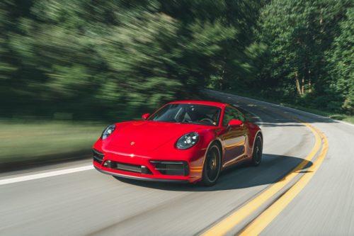 2022 Porsche 911 GTS Inches Closer to a Full-Fledged GT Car