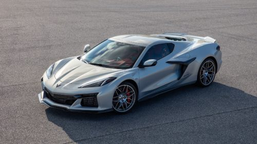 See the First Official Photo of the 2023 Chevy Corvette Z06