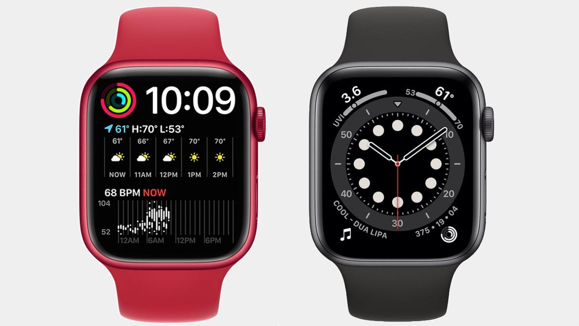 Apple Watch Series 7 v Watch Series 6