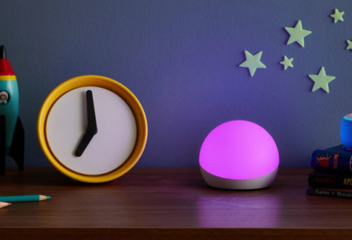 I use this one Alexa skill to keep our child from waking us up too early