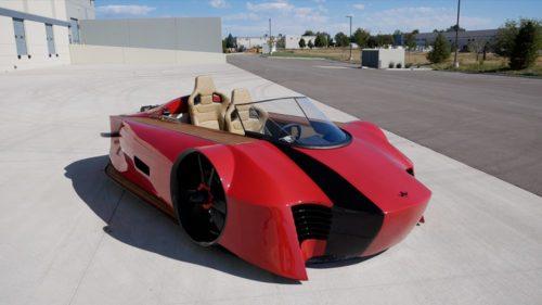 Von Mercier Arosa is a sport-luxury hovercraft with a hybrid powertrain