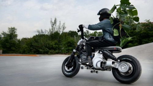 The BMW Motorrad Concept CE 02 is an Urban Electric Bike for Gen Z
