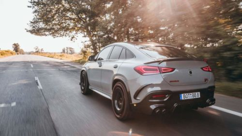 Brabus 900 Rocket Edition is a Mercedes-AMG GLE 63 S Coupe with 900HP