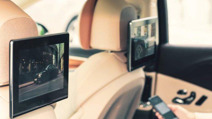 Bentley Rear Seat Entertainment