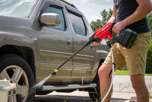 Craftsman V20 Cordless Power Cleaner Review   CMCPW350