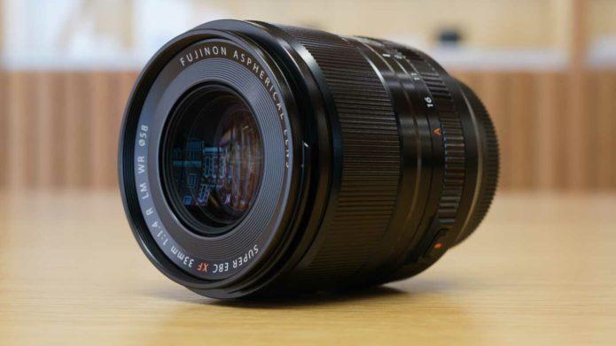 Fujifilm XF33mm f/1.4 R LM WR