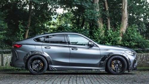 Manhart MHX6 700WB is a BMW X6 M Competition on a carbon-rich diet