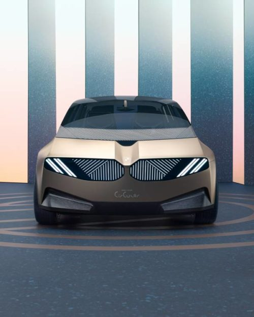 BMW i Vision Circular concept is a completely recyclable electric car