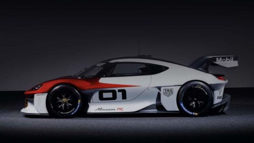 Porsche Mission R is a champion of speed and sustainability