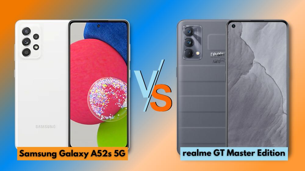 Samsung Galaxy A52s 5G vs realme GT Master Edition