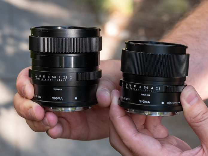 Sigma 24mm F2 and 90mm F2.8