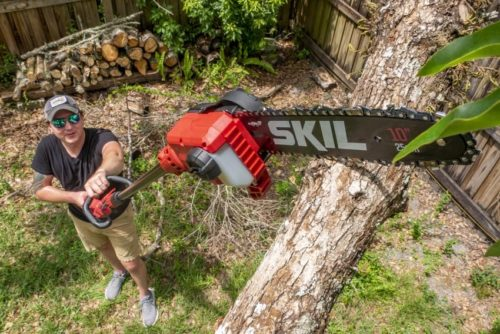 SKIL 40V Cordless 10-Inch Pole Saw PS4561C-10 – Outdoor Power Equipment Reviews