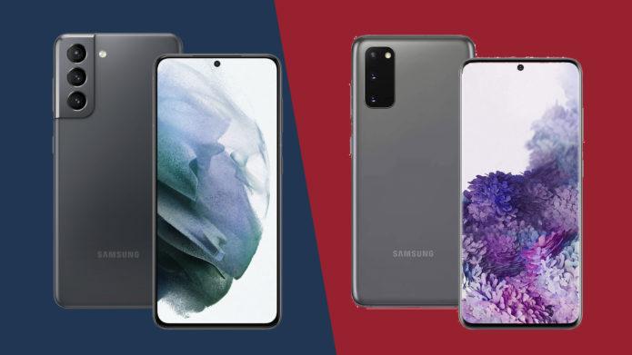 Samsung Galaxy S21 vs Samsung Galaxy S20