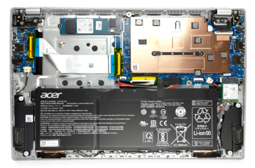 Inside Acer Swift 1 (SF114-34) – disassembly and upgrade options