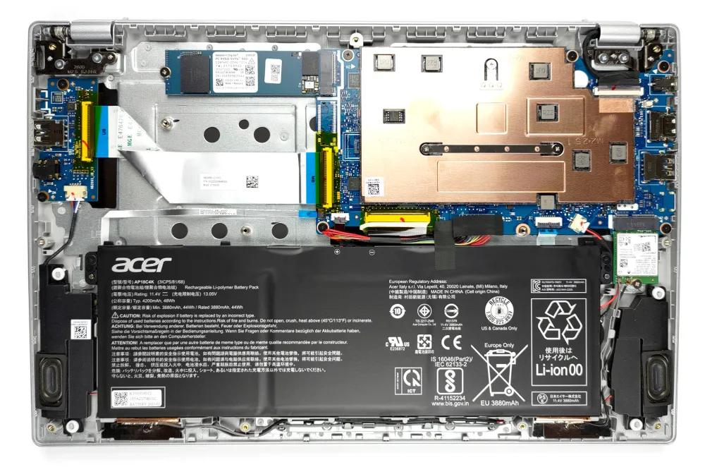 Inside Acer Swift 1 (SF114-34)