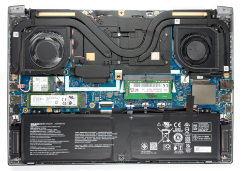 Inside Acer Predator Triton 300 SE (PT314-51s) – disassembly and upgrade options