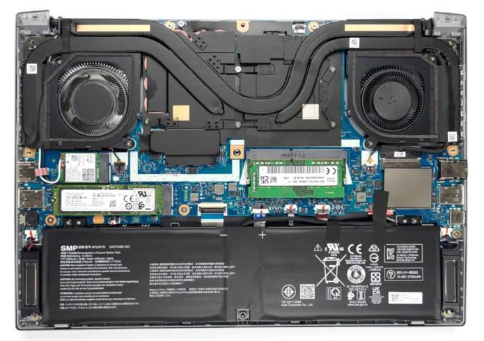 Inside Acer Predator Triton 300 SE (PT314-51s)