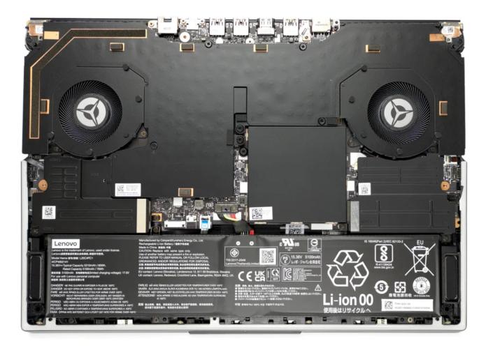 Inside Lenovo Legion 7 (16″, 2021)