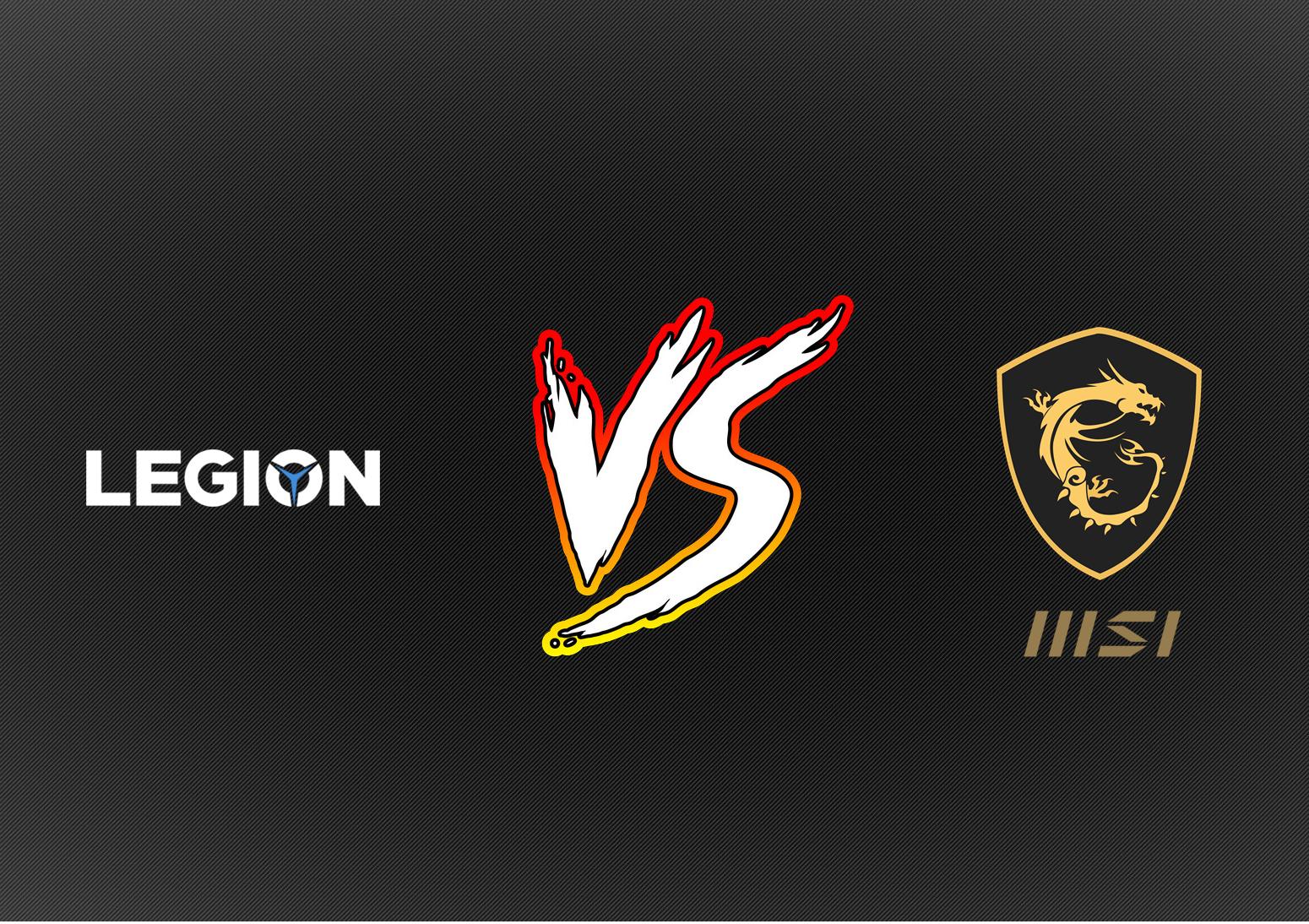 Lenovo Legion vs MSI