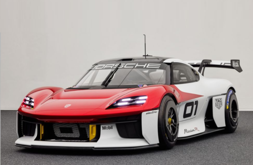 1073-HP Porsche Mission R Previews the Electric Future of Customer Racing