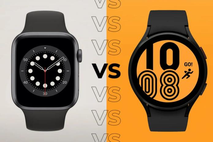 Apple Watch 6 vs Galaxy Watch 4