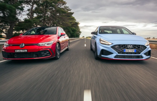 2021 Hyundai i30 N DCT v Volkswagen Golf GTI comparison