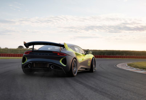 Lotus Emira GT4 Race Car Is Ready to Hit the Track