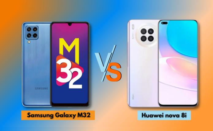 Samsung Galaxy M32 vs Huawei nova 8i