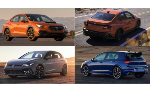 How 2022 Subaru WRX Compares with VW's Hot Hatches