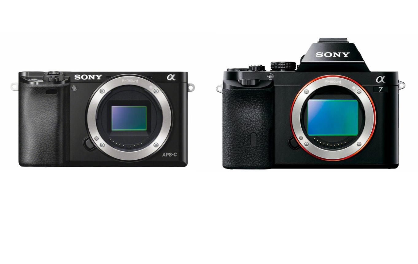 Sony A7 vs A6000