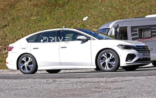 2023 Volkswagen ID.6 electric sedan first spy photos