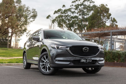 2021 Mazda CX-8 GT 2.2D review