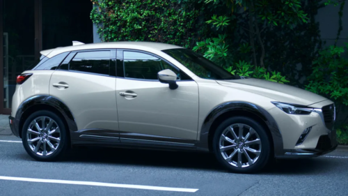 2022 Mazda CX-3 updated with new colour, revised safety
