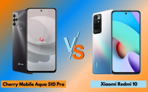 Cherry Mobile Aqua S10 Pro vs Xiaomi Redmi 10: Specs Comparison