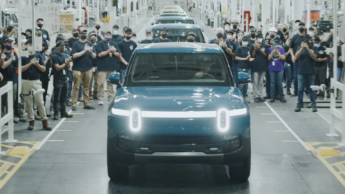 2022 Rivian R1T: America's first production electric ute rolls off assembly line