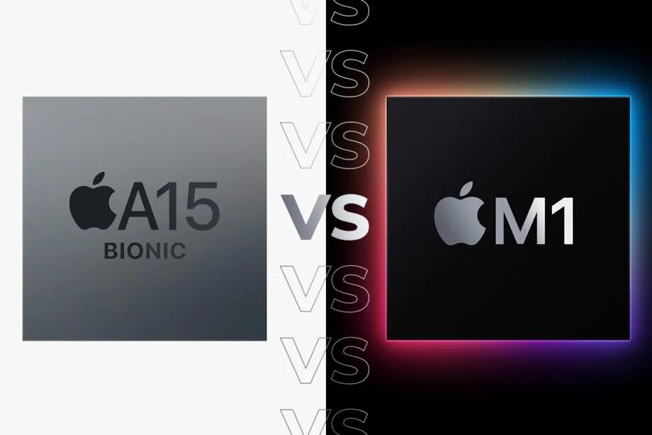 Apple A15 vs Apple M1