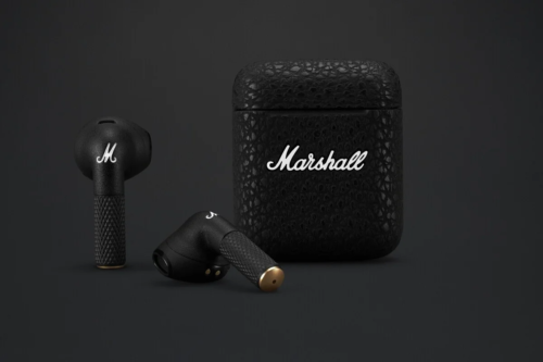 Marshall true wireless earphone lineup expands with the Minor III and Motif ANC