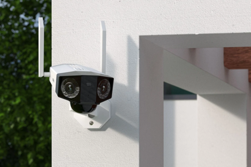 Reolink Duo security cameras use twin lenses for an extra-wide field of view