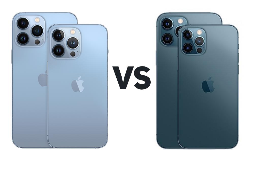 iPhone 13 Pro, 13 Pro Max vs iPhone 12 Pro, 12 Pro Max