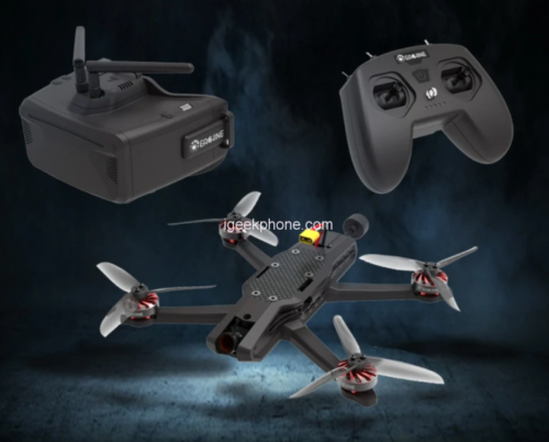 Eachine & AtomrRC Auk Review – FPV Racing Drone